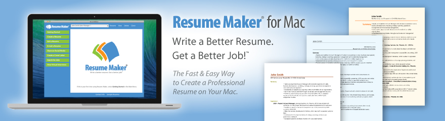 resume maker makes writing a resume easy