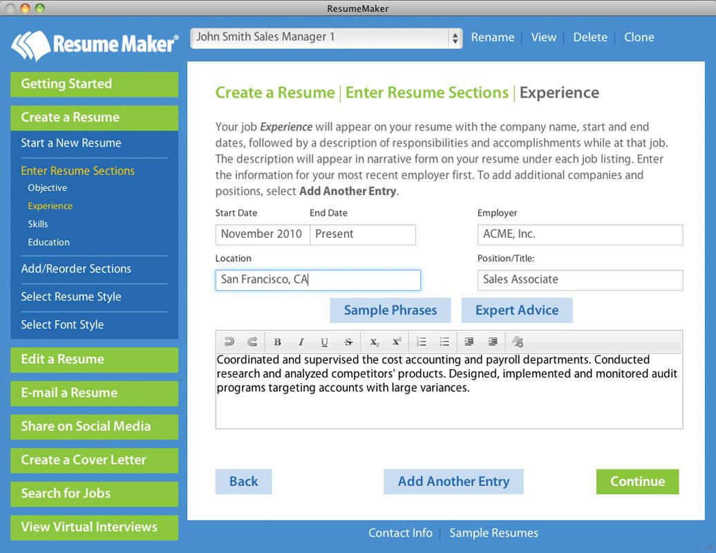 create resume using linkedin profile cipanewsletter home resumemaker for mac